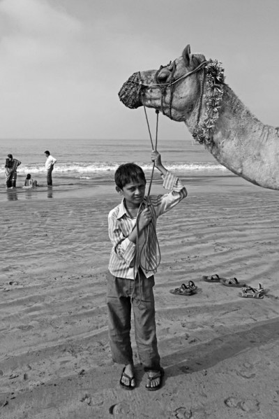 Boy and Camel