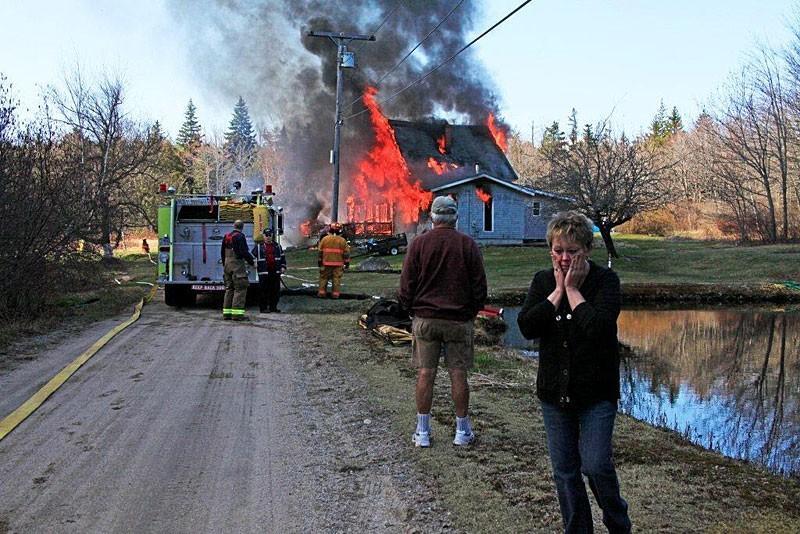 Maine House Fire