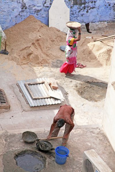 Laboring in Jodphur