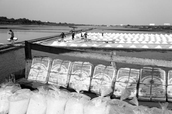 Harvesting Salt Baryta