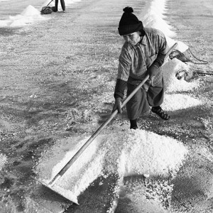 Thailand — Raking Salt