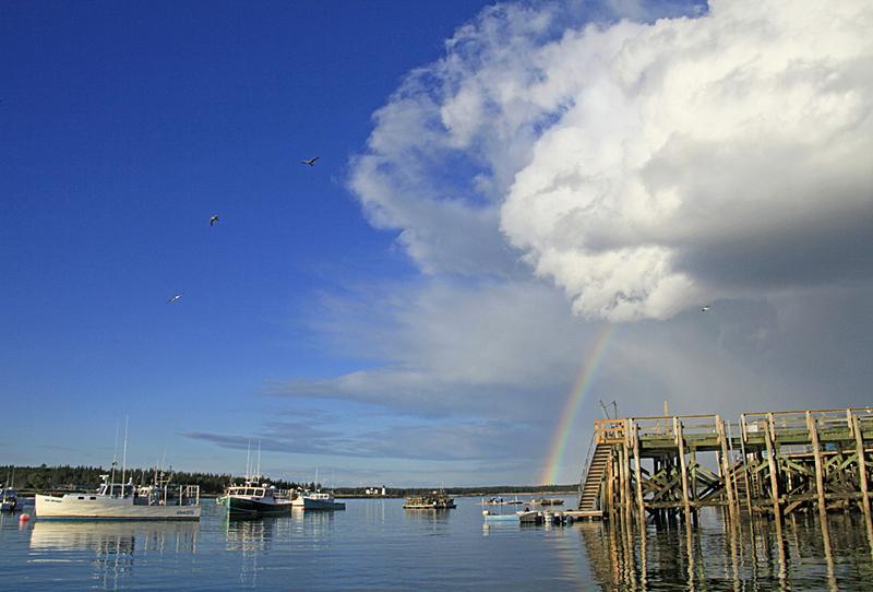 Cloudburst & Rainbow c2010