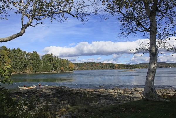 Reversing Falls - Sullivan, Maine