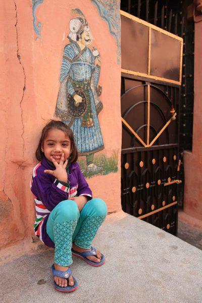Girl in Jodphur
