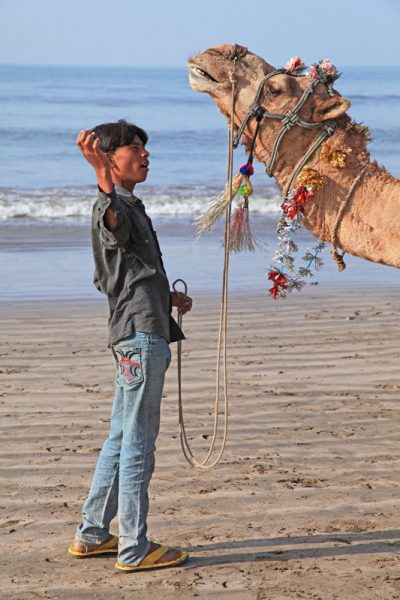 Somnath Beach Boy & Camel
